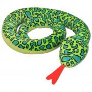 vidaXL Jucărie de pluș șarpe XXL 250 cm