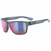Uvex Lgl 36 Colorvision Mirror S3 Occhiali da sole grigio/fuchsia;beige/bianco/nero/grigio