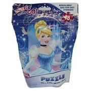 Disney Cinderella Enchanting Image Puzzle On The Go 48 Piece Puzzle