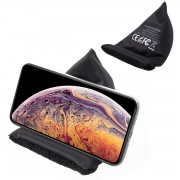 Creative Cloth Wireless Fast Charger (Support FOD) for iPhone XS Max/XS/XR/X, Samsung Galaxy Note9/Note 8/S10/S10+/S10e, etc - Black