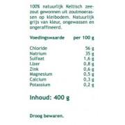 keltisch zeezout grof - 400 gram Mattisson