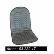 Husa scaun auto Carpoint cu masaj magnetic gri pentru scaunele din fata , 1 buc. Kft Auto