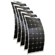 Hajlítható flexibilis napelem 12V 100 wattos 5db