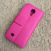 Toc Samsung Galaxy S4 Mini Husa Portofel Piele Eco Roz