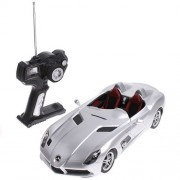 Silver Rastar 1:14 Mercedes Benz Slr Mc Laren Z199 Car Model Remote Control