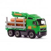 Polesie Wader Volvo Timber Truck 45x19x25 cm Green 1450653