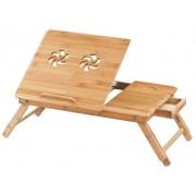 Drevený stolík na notebook
