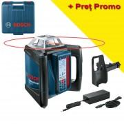 BOSCH GRL 500 HV + LR 50 HV Nivela laser rotativa orizontal/vertical (500 m) + Receptor/telecomanda