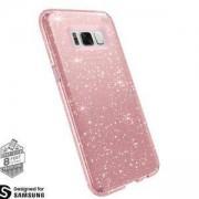 Протектор Speck Presidio за Samsung Galaxy S8 Plus, Удароустойчив, Clear Gold Glitter/Rose Pink, SPS8PCLRP
