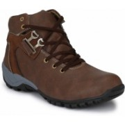 Real Blue Realblue_brown_boot Boots For Men(Brown)