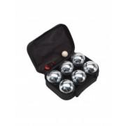 Set Boule 6 bile metalice negru Everestus JD02GH metal nailon saculet de calatorie inclus