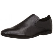 Clarks Men's Otoro Step Black Leather Clogs and Mules - 6.5 UK/India (40 EU)