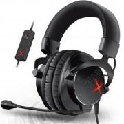 Casti cu Microfon Creative Sound BlasterX H7 Gaming (Negru/Rosu)