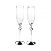 Pahare Sampanie Inimioara Cod:G510