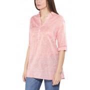 Columbia Early Tide overhemd en blouse lange mouwen Dames oranje XS 2017 Overhemden lange mouw