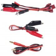 ER RC Conector Cable Set T Plug Banana Conector Para IMAX B6 B6AC Cargador.