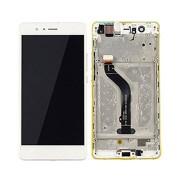 Display completo com frame Branco Huawei Ascend P9