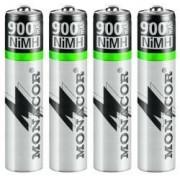 Laddningsbara batterier - NIMH-900R/4 AAA