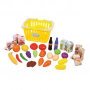 Playgo 32 Piece My Little Basket with Food Set 3752