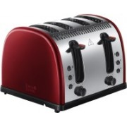Russell Hobbs RU-21301 2400 W Pop Up Toaster(Red)