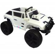 Camioneta Electrico Montable Hummer con Control Música Blanco