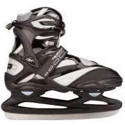 Nijdam Pro Line Ijshockeyschaatsen Zwart/Zilver Maat 38