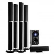 Auna Areal 652 Système d'enceintes home cinema 5.1 Bluetooth USB SD AUX 145W