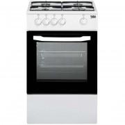 Beko Csg42001fw Cucina A Gas 50 Cm 4 Fuochi Forno A Gas Colore Bianco