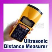Aparat masura distanta ultrasonic laser pointer LCD