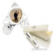 Rama caleasca suport certificat nunta Amore