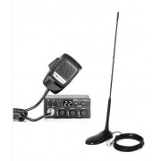 Kit Statie radio CB Midland M Zero Plus + Antena PNI Extra 45 cu magnet (Negru)
