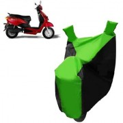 Kaaz Two Wheeler Green Colour Cover for Yo Bike Yo Spark