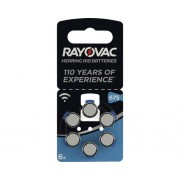 Baterii aparat auditiv Rayovac 675 1,45V 630mAh, 6 bucati