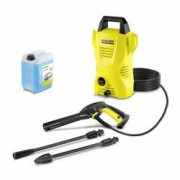 Car kit - Aparat de spalat cu presiune Karcher K 2 Compact 1400 W 110 bar 360 lh + Sampon Auto 5L