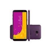 Smartphone Galaxy J6 J600, Android 8, Memória Interna de 64gb, Câmera de 13mp, Tela de 5.6, Violeta - Samsung