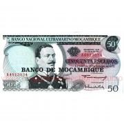 Monede si Bancnote de pe Glob Nr.37 - MOZAMBIC - 50 de escudos mozambicani