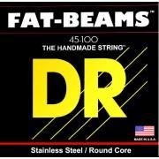 DR Strings Fat Beams Stainless 4 Strings 045-100