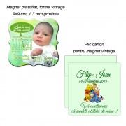 Magnet Pentru Botez Personalizat