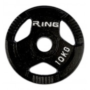 Olimpijski tegovi liveni sa hvatom 1x10kg RING PL14-10