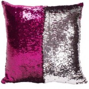 Mermaid Pillow Cushion Cover Mermaid Pillow Case without Insert Sparkling Mermaid with Flip Sequin Throw Pillow Mermaid
