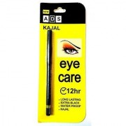 ADS Eye Care Long Lasting Waterproof Extra Black Kajal 12Hr