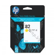 Мастило HP 82, Yellow (69 ml), p/n C4913A - Оригинален HP консуматив - касета с мастило