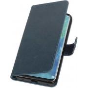 Blauw Pull-Up Booktype Hoesje voor Huawei Mate 20 Pro