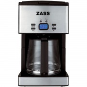 Cafetiera digitala Zass, 1000W, 1,8L, 15 cesti