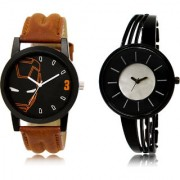The Shopoholic Black Silver Combo New Stylist Latest Black And Silver Dial Analog Watch For Boys And Girls Combo Watches For Mens