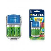 Incarcator Varta LCD 57070 4 acumulatori Varta 2600mah