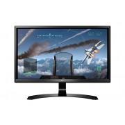 """LG 24UD58 23.8"""" 4K Ultra HD LED Black computer monitor"""