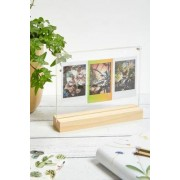 Urban Outfitters Cadre en bois pour 3 photos Instax Miniu00a0- taille: ALL