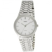 Timex Classic Analog White Dial Mens Watch - P100