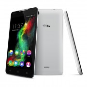 "Smart telefon Wiko Rainbow Lite 4G beli, IPS 5"",QC 1.1GHz/1GB/4GB/5&2Mpix/DS/5.1"